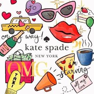 低至1.9折闪购:Kate Spade官网限时特卖会,名媛单品超值收