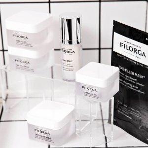 满额8折Filorga 护肤产品超值热卖 收十全大补面膜