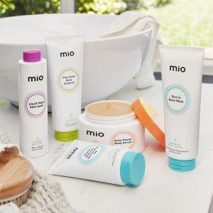低至7.5折 $19.5收身体干刷Mio Skincare 干刷脂肪团杀手 瘦腰燃脂霜 Fresh平替黄糖磨砂膏