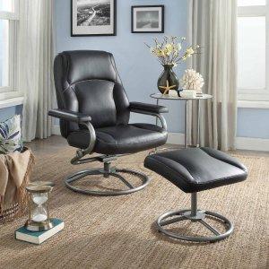 $99Mainstays 奥斯曼懒人躺椅+脚垫,2色可选