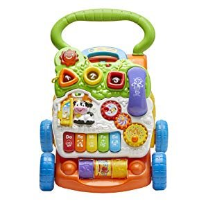 Amazon.com: VTech Sit-to-Stand Learning Walker, Lavender - Amazon Exclusive (Frustration Free Packaging): Toys & Games