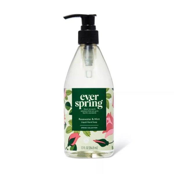 洗手液 玫瑰水+薄荷味
