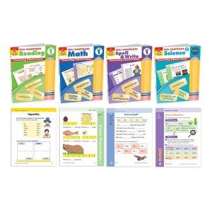 1至6年级学科练习册