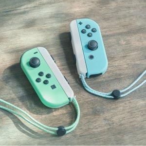 1.3折起 动森色手柄€44.66收Nintendo Switch 配件超多闪促 有彩色手柄、健身环、收纳包等