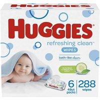Huggies 宝宝湿巾6袋共288抽