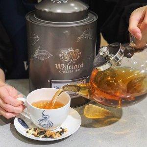 新用户无门槛8.5折独家:Whittard 新春大促享好价 茶饮、热巧、咖啡美味不停歇