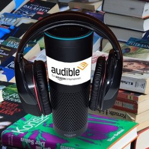 Save $50 + $50 Credit1-Year Audible Audiobooks Membership + $50 Off Amazon Echo Device