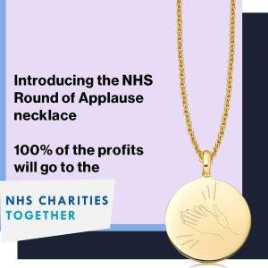定价£105 收益全部捐赠上新:Missoma 发售掌声项链 非常时期 为NHS 暖心打Call
