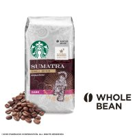 Starbucks 苏门答腊咖啡豆 12-Ounce 袋装