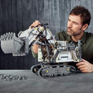 $439.99(原价$549.99)Lego 乐高机械组旗舰 Liebherr R 9800 挖掘机42100