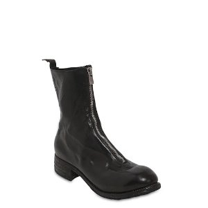 Guidi40MM ZIP-UP FULL GRAIN LEATHER BOOTS