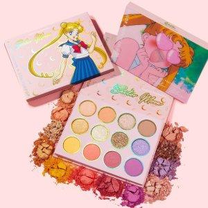$16.5Colourpop 联名Sailor Moon 水兵月眼影盘补货
