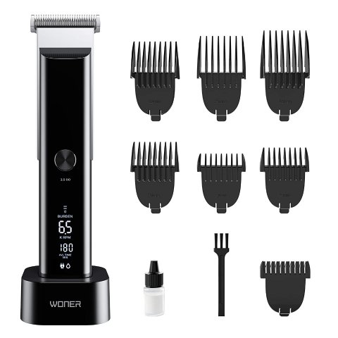WONER Hair Clippers Rechargeable Cordless Hair Trimmers