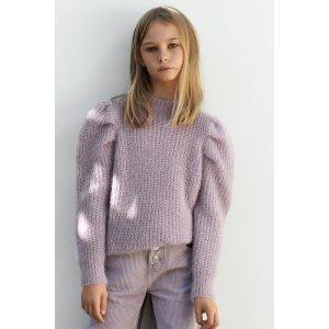 Zara女童毛衣