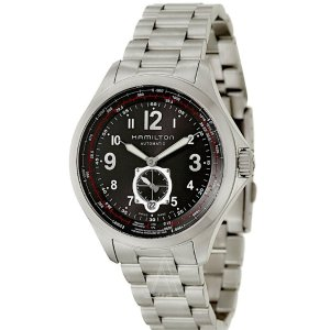 Lowest price Hamilton Men's Khaki Aviation QNE Watch H76655133