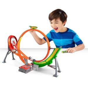 低至$3.3Hot Wheels 玩具车、轨道等套装特卖