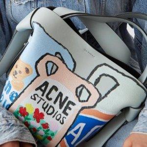 低至5折 £144收超保暖围巾Acne Studios 私密大促开跑全场 收围巾、开衫、毛衣等暖心单品