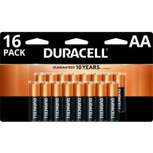 Duracell铜头电池 AA 16节
