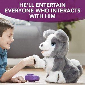 $33(原价$159.97)最佳互动玩具FurReal Friends 高科技宠物狗,能说会唱还能听口令