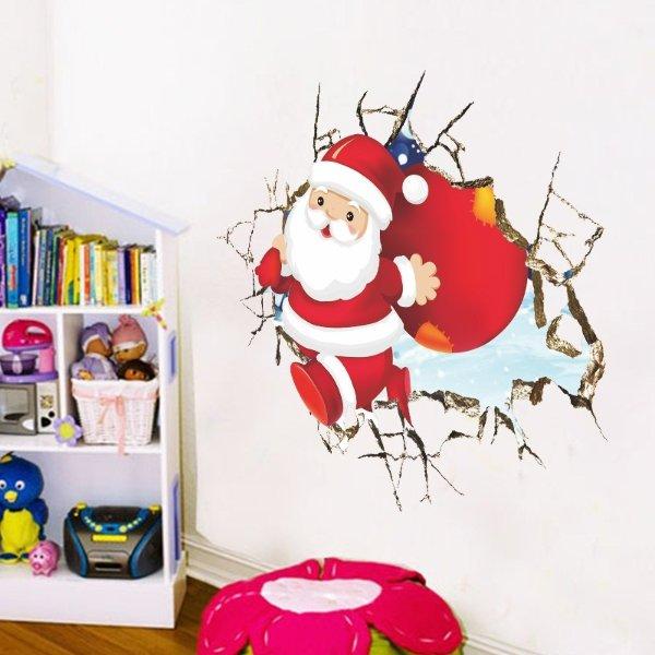 圣诞装饰墙贴