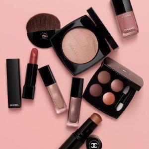 全场8折 €35收单色腮红限今天:Chanel 香奈儿 彩妆专场 收四色眼影、果冻气垫