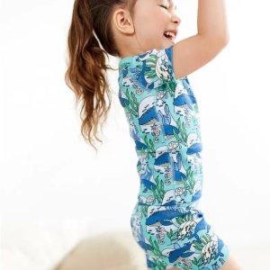 2.5折起+部分产品额外8折折扣升级:Hanna Andersson 儿童睡衣半年一次超低价促销