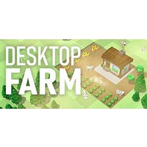 $1.79 摸鱼神器《桌面农场》Steam 数字版, 能种菜的动态壁纸