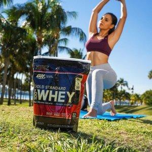 低至5折 £18入低糖乳清蛋白Optimum Nutrition 健身补剂专场热促