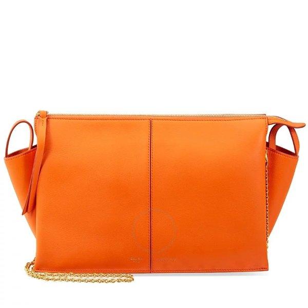 橙色链条包
