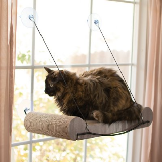 低至4折K&H Pet Products 精选猫咪阳光吊床促销热卖