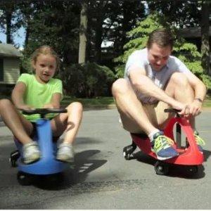 全场9折+免邮PlaSmart 儿童坐式踏板车/扭扭车 大人儿童一起玩 还能锻炼身体