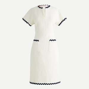 J.CrewTweed dress with rickrack