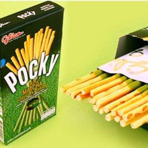 $1.47(原价$3.99)史低!补货!Glico Pocky 抹茶口味饼干棒 40克