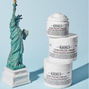 无门槛7.5折 收假日限量版Kiehl's 超值套装大促 保湿面霜、牛油果眼霜等明星产品全都有