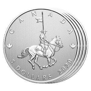 纯银纪念币4件套