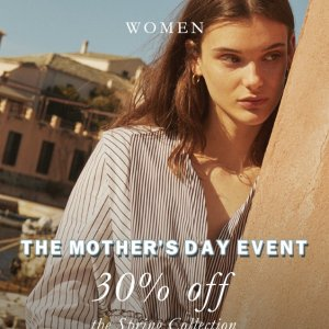 30% OffLast Day: The Mother's Day Event @ Sandro Paris