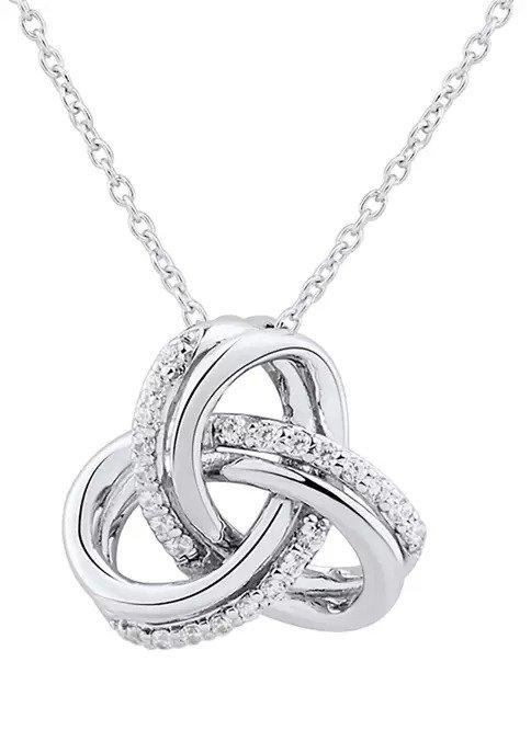 1/10 ct. t.w. 钻石项链