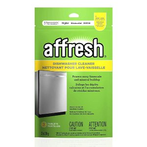 $7.57(原价$8.98)降价:Affresh 洗碗机清洁剂 3x20g装 1颗让洗碗机焕然一新