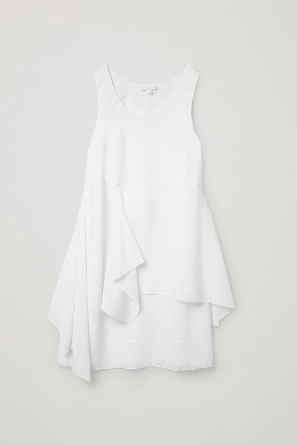 不规则连衣裙