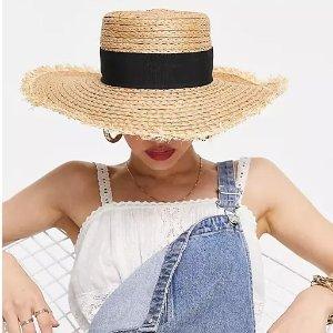 3折起+全部8.5折 £3就收渔夫帽!ASOS 时尚帽子专场大促 渔夫帽、报童帽、草帽等都有