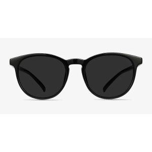 EyeBuyDirectDeja vu - Round Black Frame Sunglasses | EyeBuyDirect