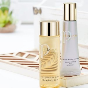 Receive A Free Complimentary Travel Size Lotionwith Purchase of Their Full-Size Companion @ Cle de Peau Beaute