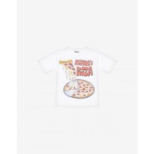 Moschino披萨短袖