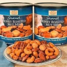 12.12限时特价¥128美国 Savanna 蓝罐蜜烤混合坚果850g超大容量装