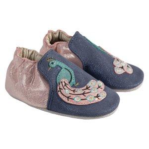 5折起+包邮Robeez  婴儿学步鞋促销 真皮材质柔软透气