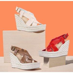 一律$19.99+免邮 收封面款Nina Shoes 精选夏日美鞋特卖 收薰衣草紫休闲鞋