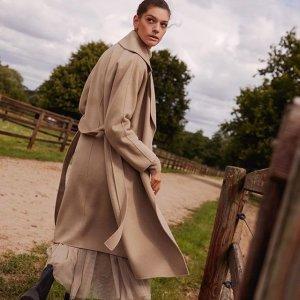 5折起+折上8折 €63收针织连衣裙Hallhuber 季末大促 德国高档成衣品牌 精致质感挡不住