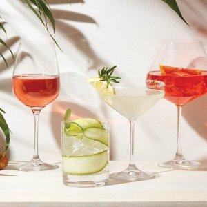 额外8折Lenox 精选玻璃杯、酒具等热卖