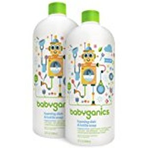 Amazon.com: Babyganics Alcohol-Free Foaming Hand Sanitizer Refill, Fragrance Free, 16oz Bottle (Pack of 2): Baby