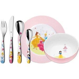 WMFX 迪士尼公主 餐具6件套